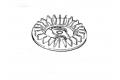 Lüfter Sabo Vgl.-Nr. SA34967 für Rasenmäher 47-4 BC A (SA223)